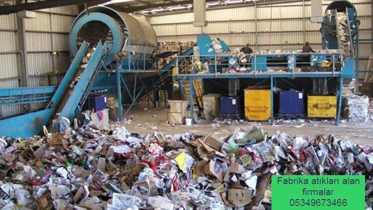 Fabrika Atıkları Alan Yerler
